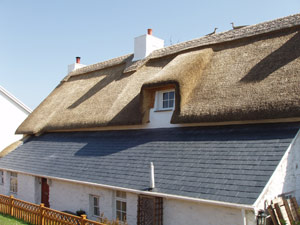 Thatched long house, Wales