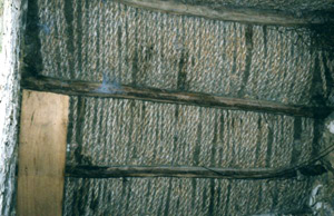 Original rope underthatch (basecoat)