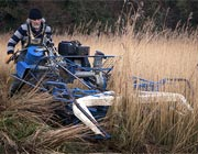 Video of us cutting the reed beds at Newport Pembrokeshire