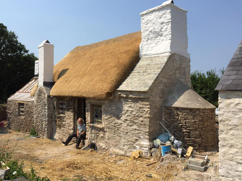 Restoration of a south Pembrokeshire thatched cottage
